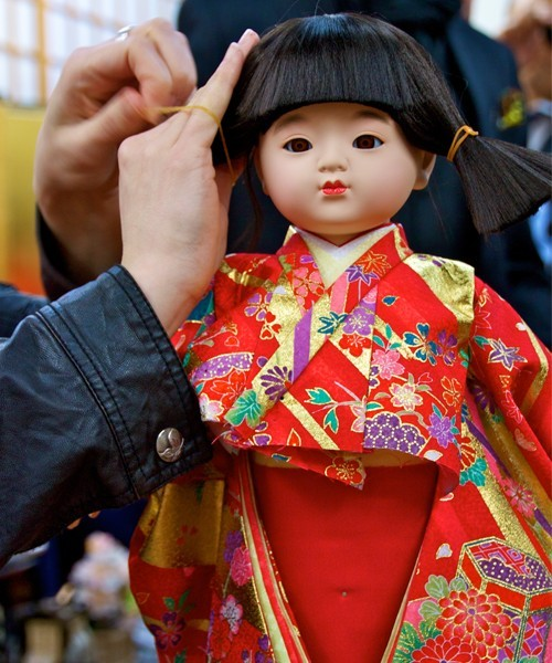Make your own Ando doll in Kyoto, Japan