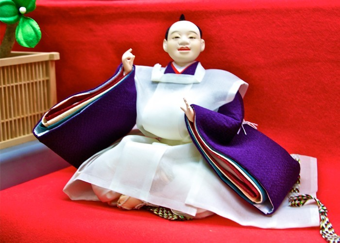 male doll created by Ando in Kyoto, Japan