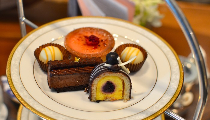 Tiffin High Tea at the Langham Hotel, Melbourne