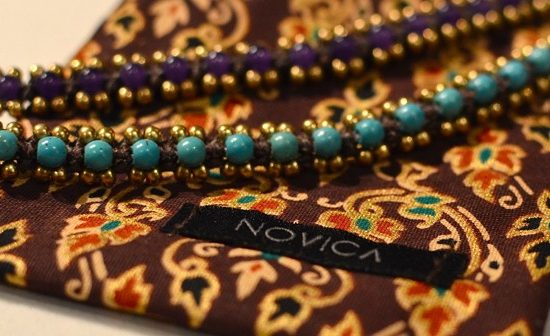 NOVICA sustainable bracelets made in Thailand