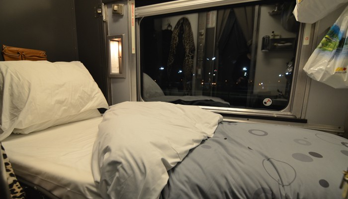 Lessons learnt from travelling across canada by train Via rail canada cabin for 2